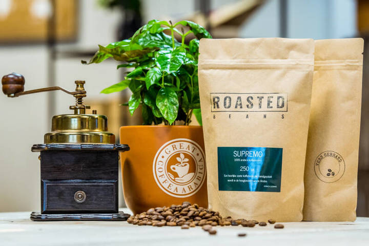 Roasted Beans - Coffee roasters